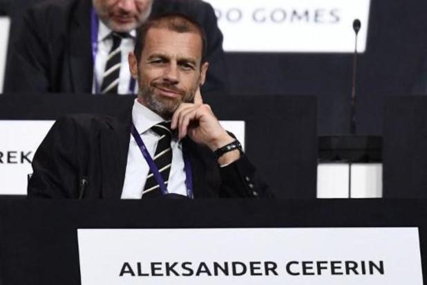 """UEFA-voorzitter Ceferin:""""Bonden kunnen racismeprobleem niet alleen oplossen"""""""