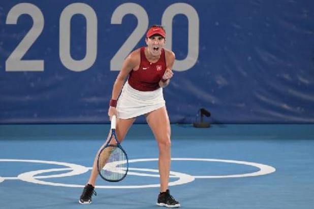 Bencic schenkt Zwitserland tennisgoud in enkelspel