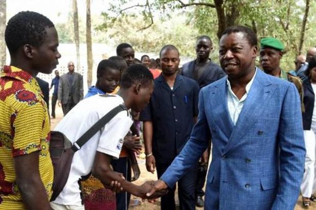Zittend president van Togo wint verkiezingen