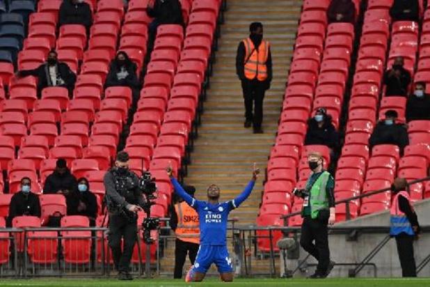 Belgen in het buitenland - 4.000 fans zien Iheanacho Leicester naar FA Cup-finale schieten