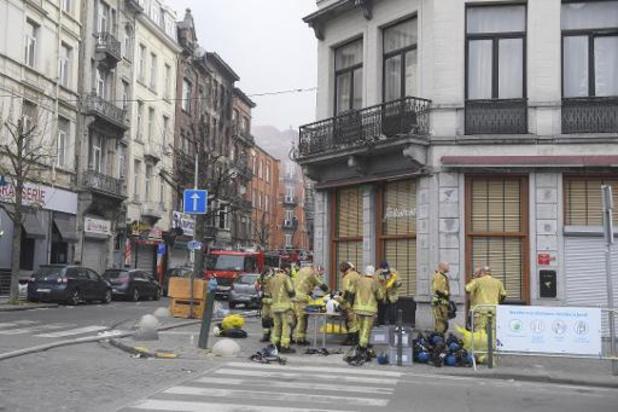 Uiteindelijk 30 slachtoffers geteld na zware woningbrand Anderlecht