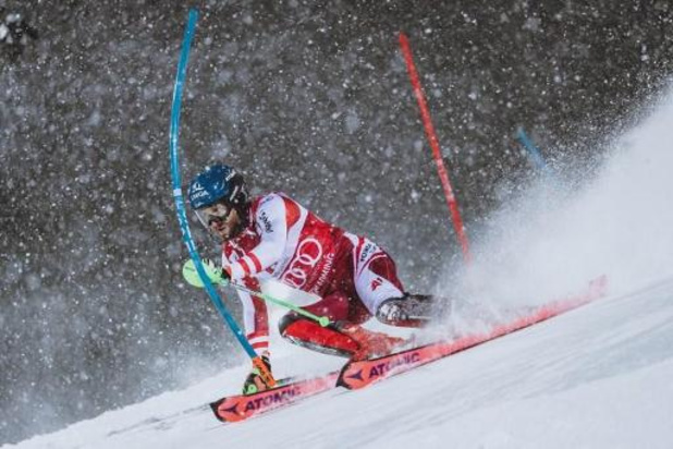 WB alpijnse ski - Oostenrijker Schwarz wint slalom in Schladming, Armand Marchant wordt zestiende