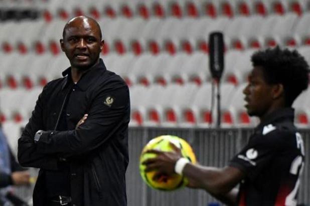 OGC Nice ontslaat coach Patrick Vieira
