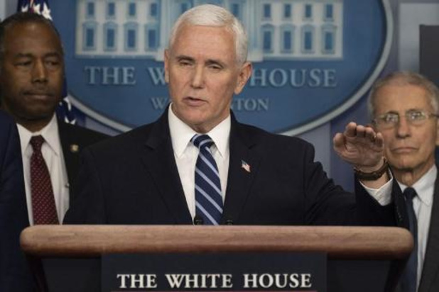 Coronavirus - Le vice-président américain Mike Pence annonce qu'il va être testé samedi