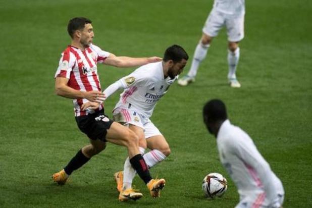 Belgen in het buitenland - Hazard en Courtois halen met Real finale van Spaanse Supercup niet