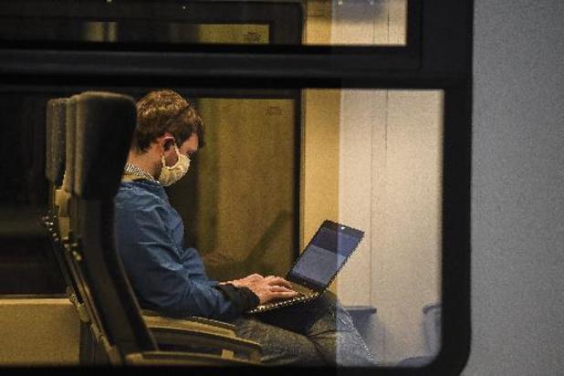 Securail-agenten schreven ruim 4.700 pv's uit voor niet dragen mondmasker op trein