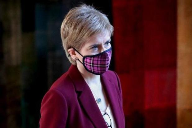 Schots regeringsleider verontschuldigt zich voor corona-overtreding