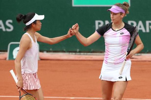 Elise Mertens qualifiée pour les huitièmes de finale en double