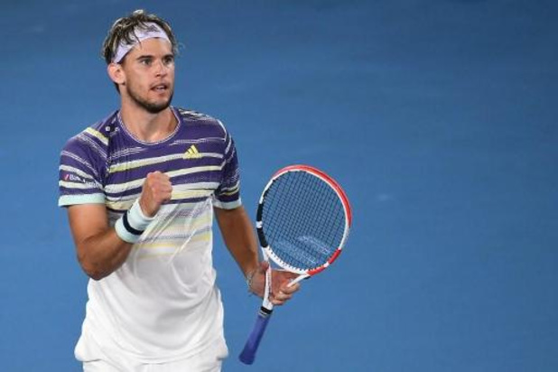 Dominic Thiem rejoint Novak Djokovic en finale à Melbourne