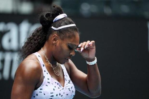 Serena Williams éliminée en 8e de finale