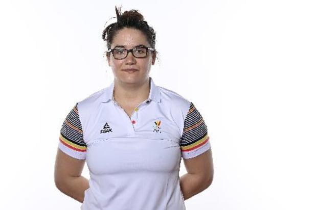 Haltérophilie: Anna Van Bellinghen termine à la 11e place dans la catégorie des +87 kg