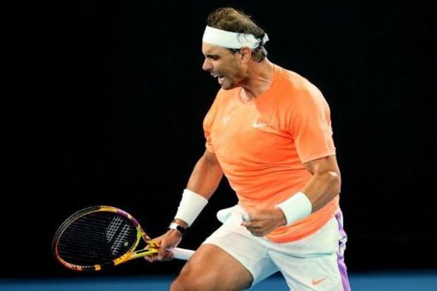 Rafael Nadal élimine Cameron Norrie en trois manches en seizièmes de finale