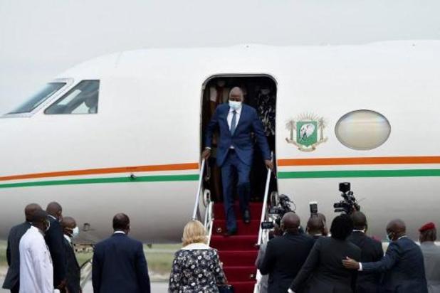 Le Premier ministre ivoirien de retour après avoir été soigné deux mois en France