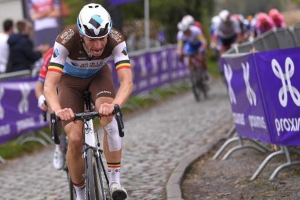 Ronde van Vlaanderen - Oliver Naesen sluit seizoen af met Driedaagse Brugge-De Panne