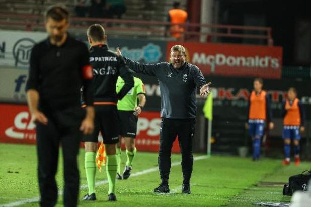 Jupiler Pro League - Referee Department fluit Vanhaezebrouck terug: 'Doelpunt terecht afgekeurd'