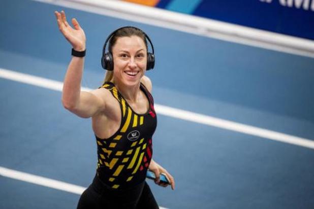A Torun, Eline Berings a retrouvé davantage d'énergie grâce au groupe belge