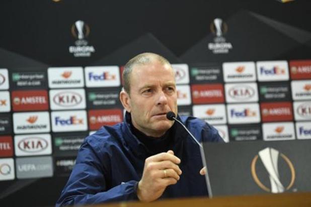 """Le coach de La Gantoise ne changera pas face à l'AS Rome: """"Nous continuerons d'attaquer"""""""
