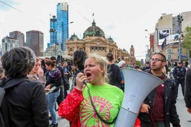 Climat - Plusieurs arrestations en Australie au 2e jour de la semaine de désobéissance civile