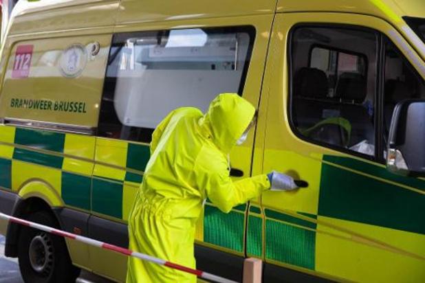 Ajout de 3 ambulances 112 pour faire face aux interventions Covid à Bruxelles