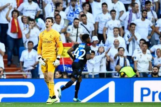 """""""Courtois had tegen Brugge last van buikgriep"""", legt Real Madrid wissel uit"""