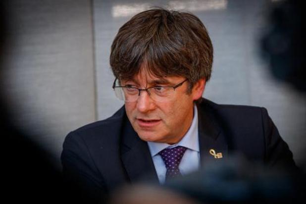 Puigdemont verschijnt op 29 oktober voor Brusselse raadkamer