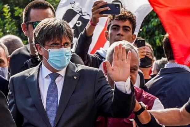 Italiaanse rechter schort procedure tegen Puigdemont op