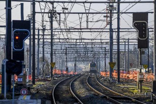 Plus de la moitié des trains rouleront, assure la SNCB