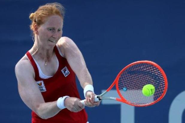 WTA Montréal - Alison Van Uytvanck avance au dernier tour qualificatif