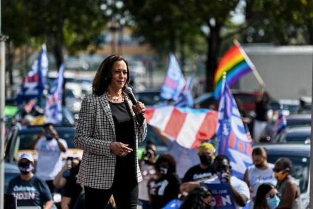 """Présidentielle américaine 2020 - """"Mettons-nous au travail"""", lance Kamala Harris après l'annonce de la victoire de Joe Biden"""