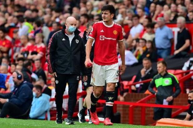 Maguire, blessé au mollet, sera absent pour plusieurs semaines