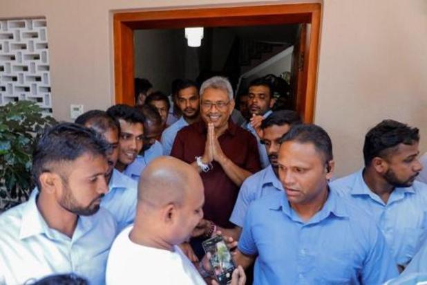 Sri Lanka: le nouveau président Gotabaya Rajapaksa prête serment