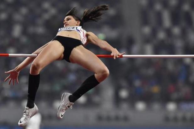 WK atletiek - Claire Orcel eindigt als elfde in hoogspringfinale, goud is voor Russische Lasitskene