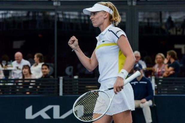 WTA Cincinnati - La Suissesse Jil Teichmann rejoint Ashleigh Barty en finale