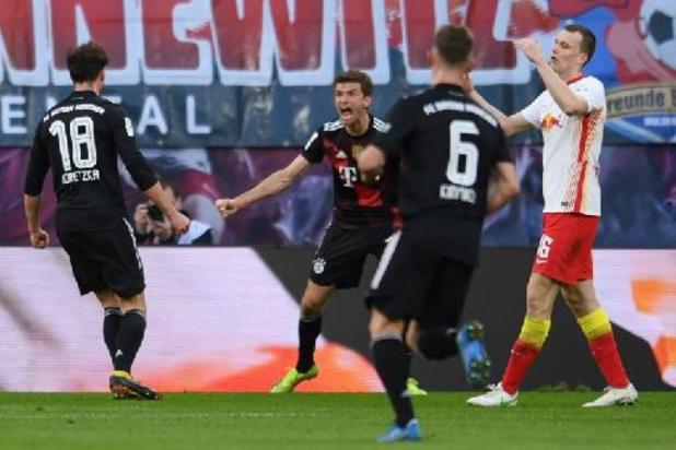 Bundesliga - Vainqueur à Leipzig, le Bayern porte son avance à 7 points