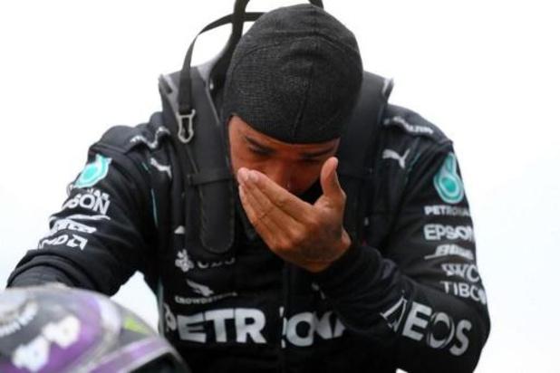 """Lewis Hamilton ému après son 7e titre de champion du monde: """"Au-delà de tous mes rêves"""""""
