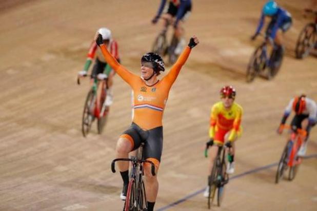 WK baanwielrennen - Kirsten Wild pakt derde wereldtitel scratch