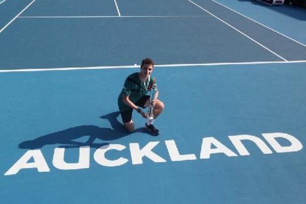 Le tournoi d'Auckland, prévu début janvier, n'aura pas lieu non plus en 2022
