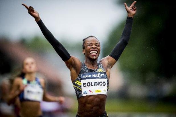Cynthia Bolingo bat le record de Belgique du 400m avec le meilleur chrono européen de 2021