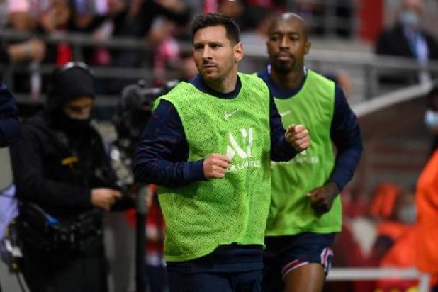 Ligue 1 - Messi debuteert voor PSG in Reims