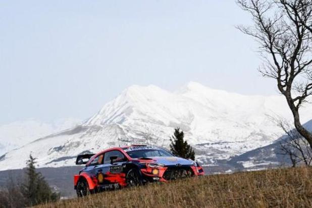 WRC - Dominateur, Thierry Neuville est en tête du Monte Carlo
