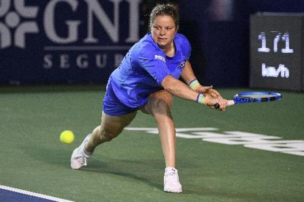 WTA Chicago - Kim Clijsters et Kirsten Flipkens éliminées d'entrée en double