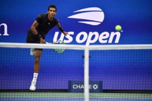 US Open - Auger-Aliassime qualifié en demi-finale après l'abandon d'Alcaraz