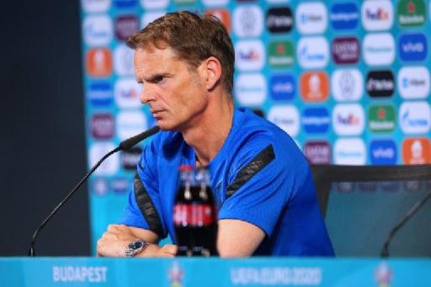 Frank de Boer quitte son poste de sélectionneur des Pays-Bas