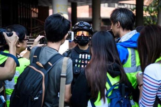 Tientallen betogers houden universiteitscampus nog altijd bezet