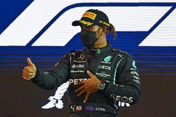 F1 - GP van Emilia-Romagna: Lewis Hamilton verovert 99e poleposition uit loopbaan