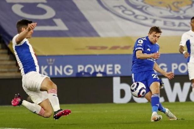 Les Belges à l'étranger - Leicester, avec un but de Castagne, renverse Crystal Palace