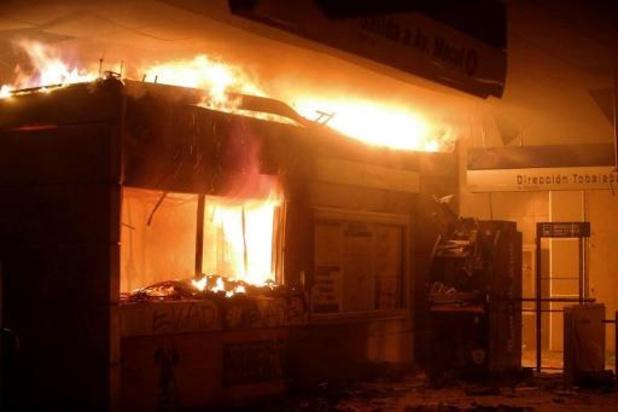 Noodtoestand uitgeroepen in Chili na protesten in metro