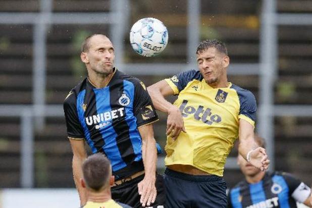 Le Club de Bruges s'impose en fin de match à l'Union St-Gilloise