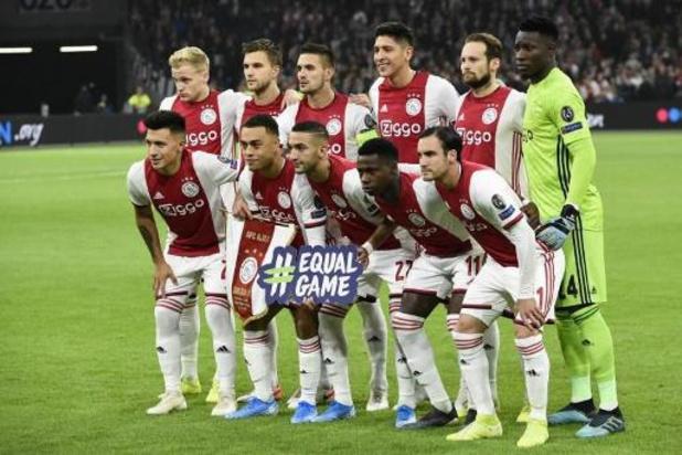 Eredivisie - L'Ajax surclasse Feyenoord et fait la bonne opération en tête du championnat