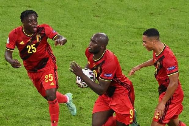 Romelu Lukaku in elftal van het toernooi